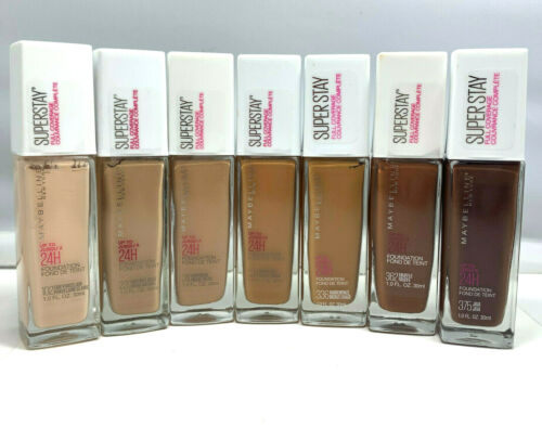 Maybelline SuperStay Full Coverage Up To 24H Foundation 1.0oz./30ml New;You Pick