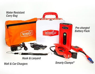 WEEGO N44 PORTABLE BATTERY JUMP STARTER KIT  for sale  Shipping to South Africa