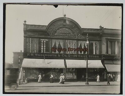 Vintage 1910-50s NYC Woolworth 5 & 10 Cent Department Store Photos #10 (2pcs)