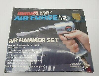 1985 Nos Mark1 Mark 1 Heavy Duty Air Force Power Tools Air Hammer Set