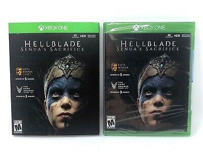 Hellblade Senua's Sacrifice (Microsoft Xbox One, 2018) *BRAND NEW & SEALED*
