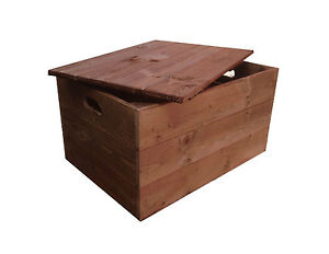 Crates4You - Rustic Wooden Crate Box With Lid (Vintage Style) | eBay