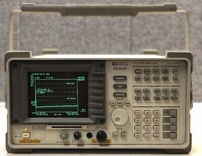 Hewlett Packard 8594e Portable Spectrum Analyzer 9 Khz To 2.9 Ghz