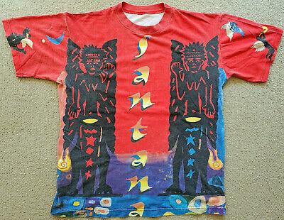 🔥RARE🔥 Vintage SANTANA T-SHIRT SACRED FIRE TOUR Live South America 1993 L XL