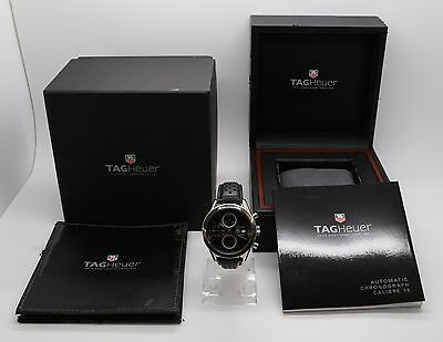 TAG HEUER CARRERA CV2016 CHRONOGRAPH AUTOMATIC STEEL WATCH