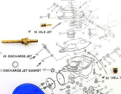 Carburetor Jet Kit Fits Miller Welder Continental F163 13803 062180  Aa1