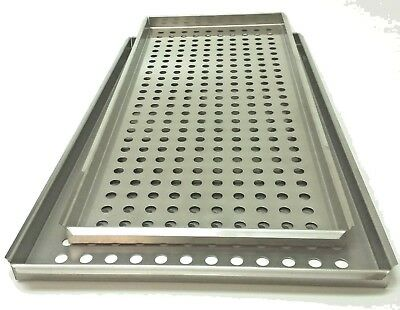 Tuttnauer 3870 Largesmall Tray Set Stainless Autoclave Tray 3870m 3870e 3870ea