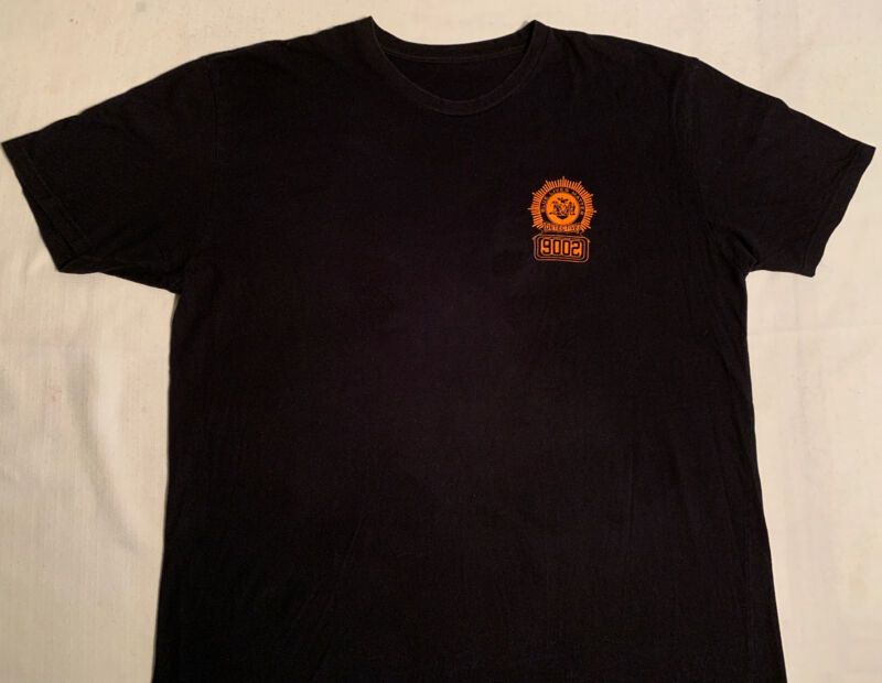 NYPD New York City Police T-Shirt Sz XL Detective Squad Finest NYC Brooklyn