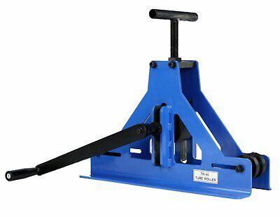Erie Tools Manual Square Tube Pipe Roller Rolling Bender Mild Steel Copper