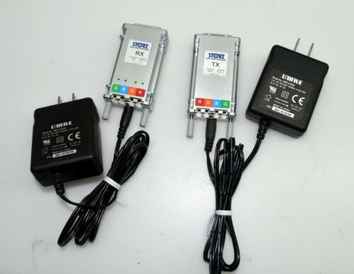 Karl Storz DRE-0502(RX) DTE-0502(TX) Optical DVI Extension Module Set