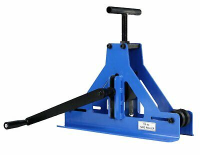 Erie Tools Manual Square Tube Pipe Roller Rolling Bender Mild Steel Copper