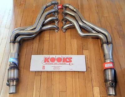 Kooks 2250H420 Long Tube Headers + Catted OEM Connection Pipe 10-15 Camaro SS V8