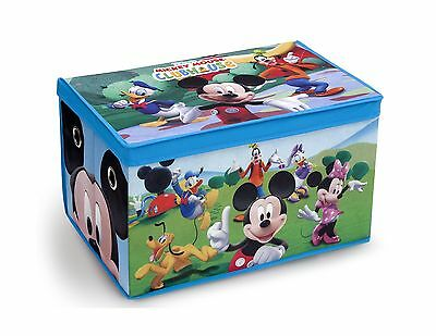 Delta Children Fabric Toy Box Disney Mickey Mouse Free Shipping