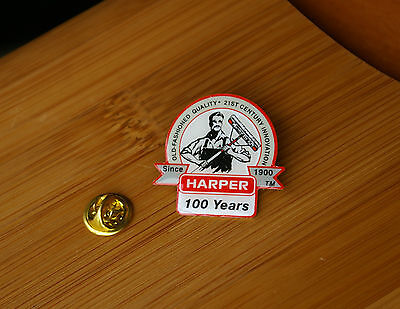 Harper Pin Pinback Old-Fashioned 21st Century Innovation Since 1900 100 Years