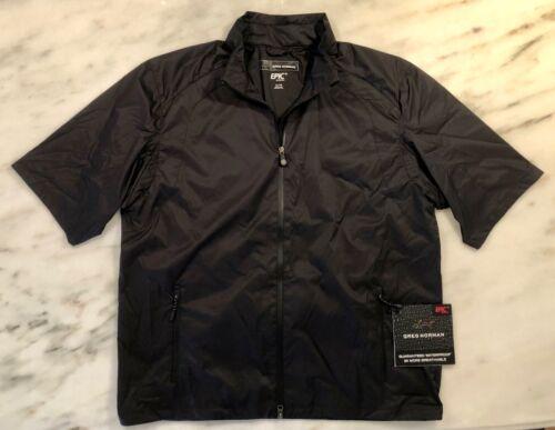 Greg Norman Epic by Nextec Windbreaker Jacket size X-Large NWT $145