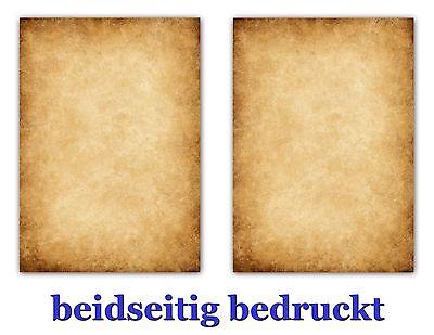 100 Blatt DIN A4 Briefpapier Motivpapier Urkundenpapier 90g/m² Druck zweiseitig