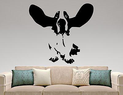Basset Hound Wall Decal Dog Vinyl Sticker Pet Art Room Bedroom Animal Decor 7epq