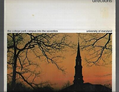 University of Maryland College Park 1970 vtg Publicity Book INTO 70s DIRECTIONS