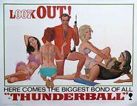 Film Riproduzione Thunderball James Bond Poster Stampa A3 Questo È Un Poster -  - ebay.it