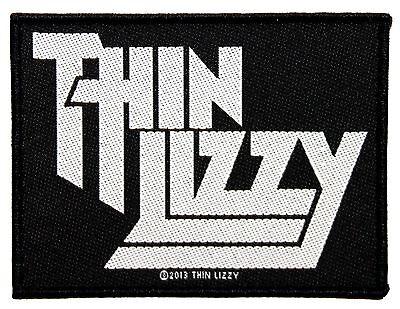 """Thin Lizzy"" Rock Band Logo Irish Blues Metal Merchandise Sew On Applique Patch"