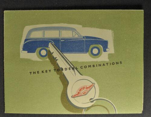 1956 Wartburg Combi-Wagon Small Brochure 311 Kombi VEB Excellent Original 56