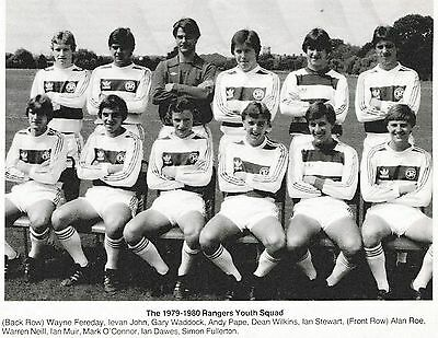 QPR YOUTH TEAM FOOTBALL PHOTO 1979-80 SEASON