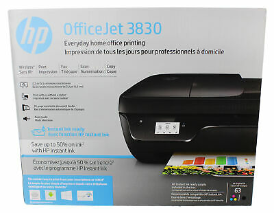 HP OfficeJet 3830 All-in-One Touchscreen  Wireless Printer w