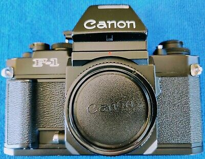 Canon F1 New 35mm Film Camera with 3 Lenses - Excellent!