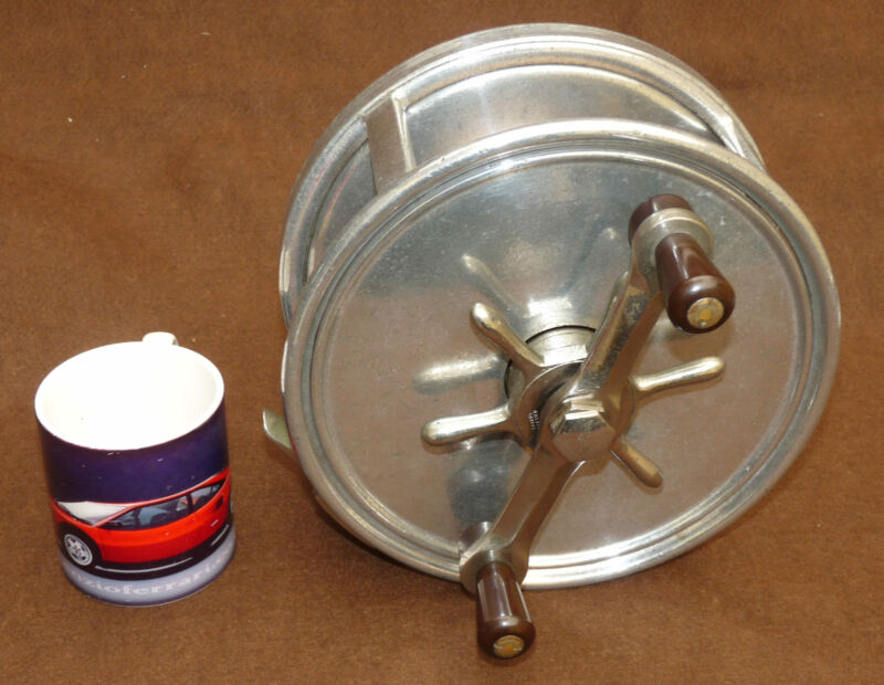 """Hardy Fortuna 9"""" Ex Wide big game reel Andreas Patent only 46 built 1934-6"""