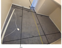 Wanted: Experienced handyman for basement floor install