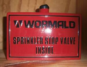 Wormald Fire Sprinkler Stop Valve Rowville Knox Area Preview