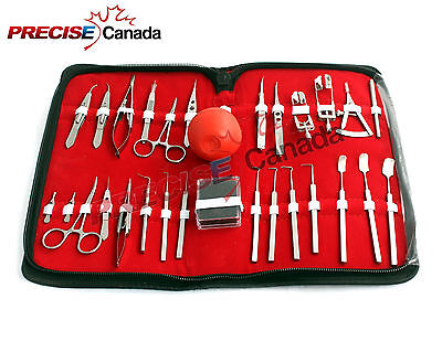 27 Pc O.r Grade Strabismus Ophthalmic Eye Micro Surgery Surgical Instruments
