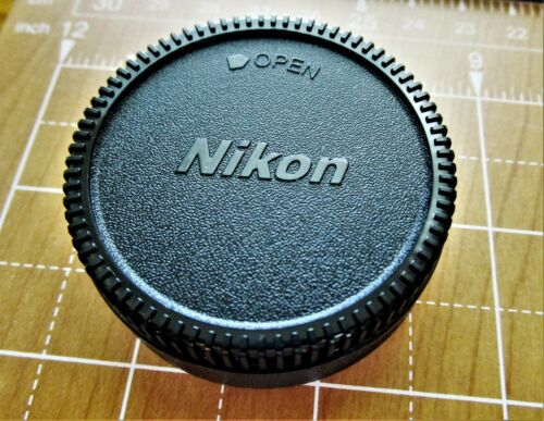 2X NEW NIKON SET- CAMERA BODY/REAR LENS CAPS. QUALITY REPLACEMENT- U.S.A.Ship!