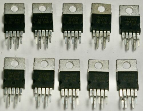 TDA2003 ZIP-5 10W CAR RADIO AUDIO AMPLIFIER IC Lot of 10   Ship from US