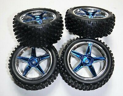 Redcat Racing Tornado EPX Pro Front and Rear Wheels and Tires (4)