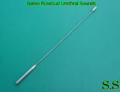 Bakes Rosebud Urethral Sounds Set Of 5 Pcs