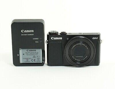 Canon PowerShot G9 X Mark II 20.1MP Digital Camera Black; ABTS 463927