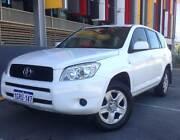 TOYOTA RAV4 CV Auto (4X4) Perth Perth City Area Preview