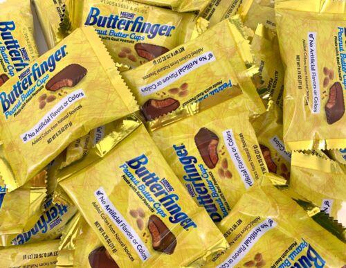 Butterfinger Fun Size Peanut Butter Cups Candy, Bulk