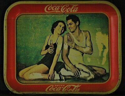 """Vintage  Coca Cola Serving Tray - 13""""x10.5"""""""