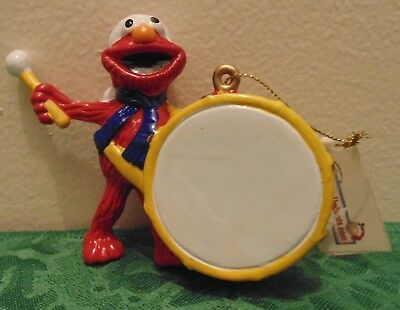 Sesame Street Elmo With a Drum Christmas Tree Ornament Holiday Gift](Elmo Christmas Ornament)