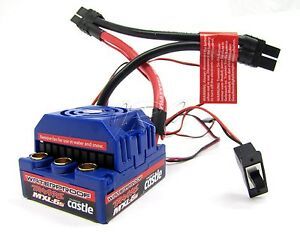BRUSHLESS-E-REVO-ESC-Waterproof-Mamba-MXL-6S-Monster-Castle-e-maxx-Traxxas-5608