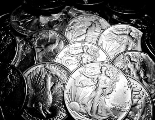 1916-1947 ~**(1)ABOUT UNC AU**~ Silver Walking Liberty Half Dollar US Coin Lot!