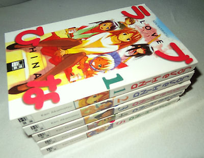 Band 1-5 Love Hina Taschen-Buch 2003 von Ken Akamatsu Egmont Manga & Anime