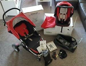Steelcraft Infant Carrier and Agile 4 Wheel Travel System Monterey Rockdale Area Preview