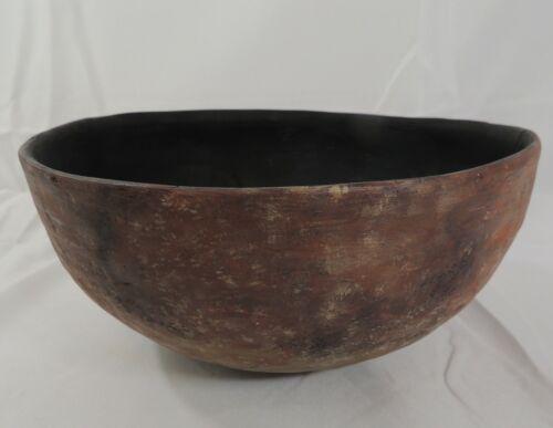 "Anasazi Salado Red Ware 10"" Pottery Bowl 1200 to 1400 AD"