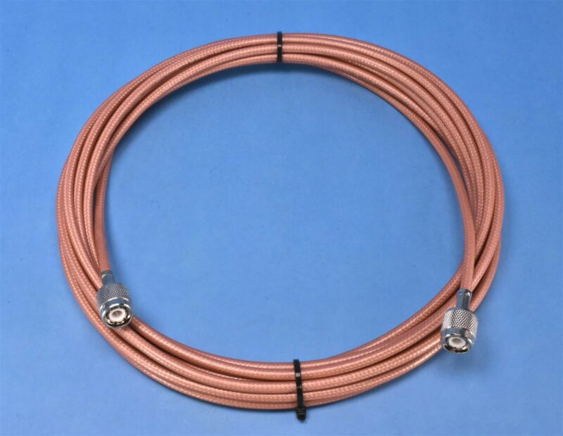 Lockheed Martin Mil-Spec Cable TNC Male to TNC Male RG400 20