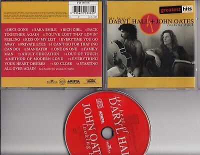 DARYL HALL & JOHN OATES The Best Of Looking Back CD GERMANY RCA RED FACED