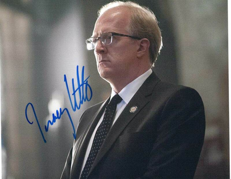 Tracy Letts signed 8x10 Photograph w/COA Homeland TV Show Andrew Lockhart #4