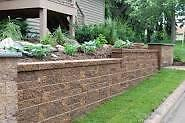 retaining walls and walkway pavers London Ontario image 4